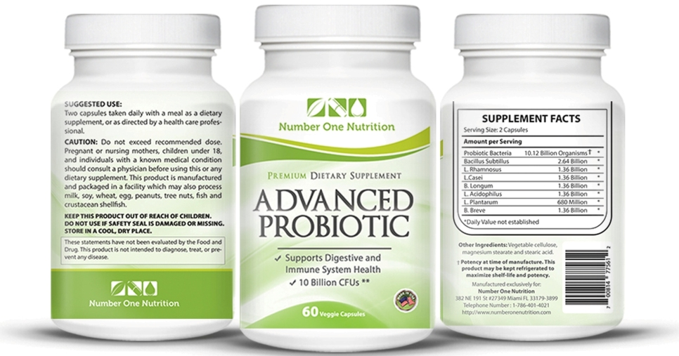 Number One Probiotic Supplement – Probiotics Supplement for Women, Kids and MenReview