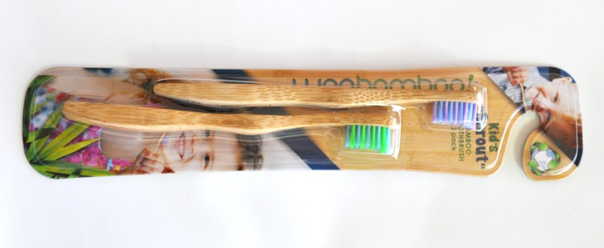WooBamboo Kid's Eco Toothbrush Review & Giveaway !