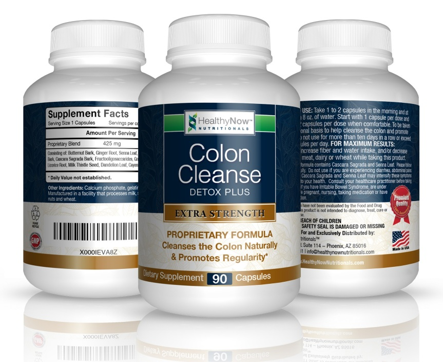 HealthyNow Colon Cleanse Detox Plus Review
