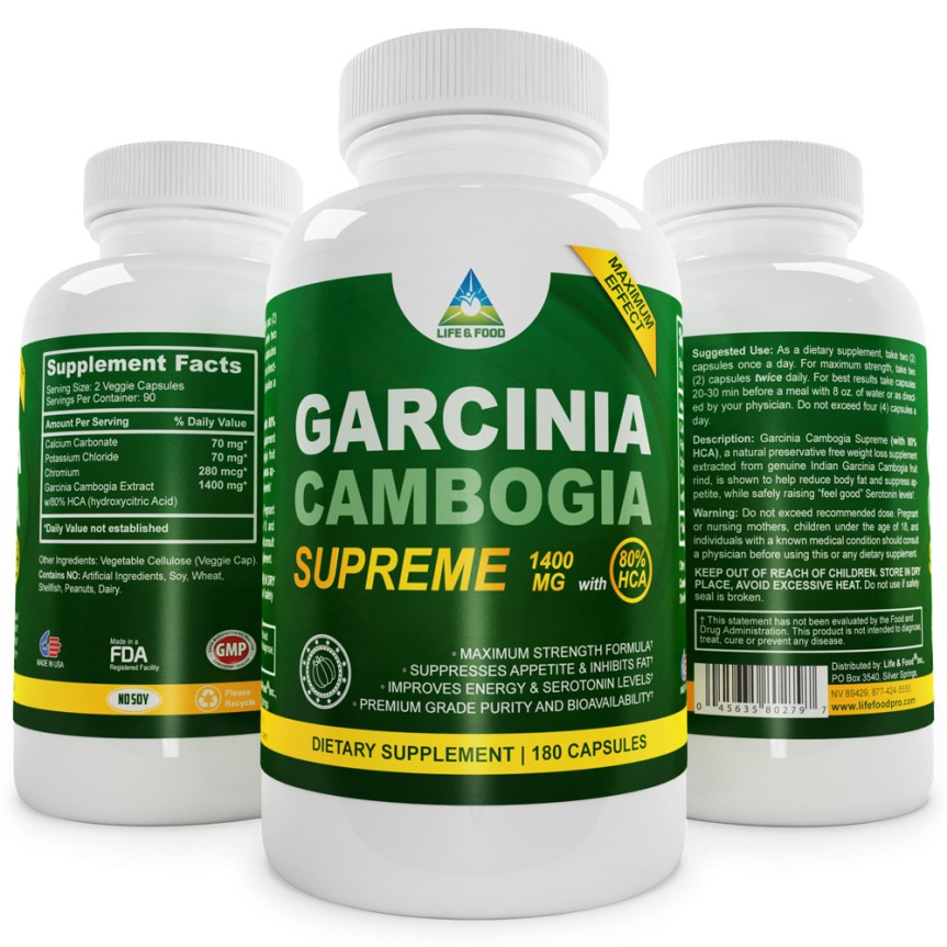 Review:Max Garcinia Cambogia 80% HCA, 180 Capsules, our highest confirmed HCA%. Third Party Tested. Review