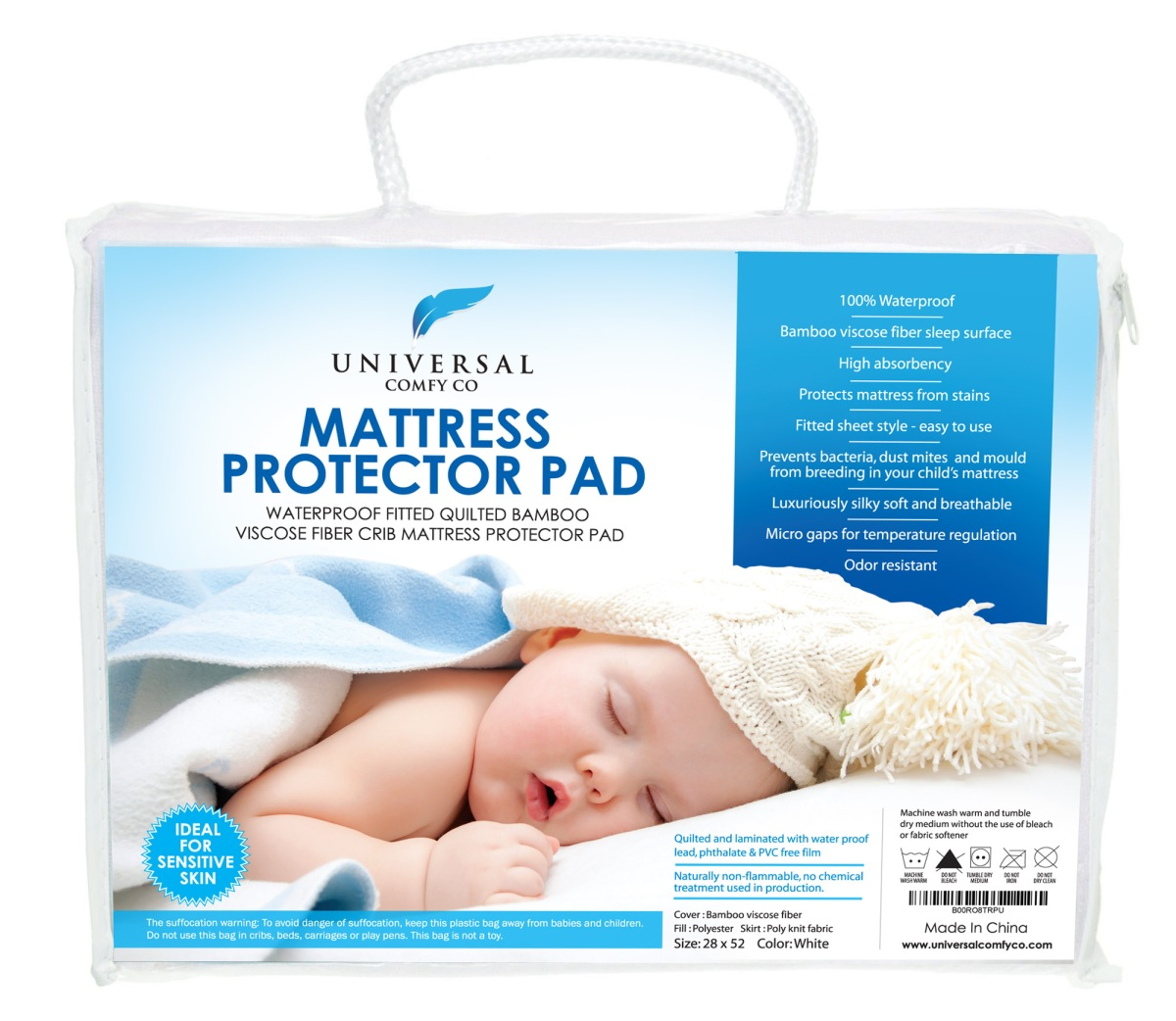 Crib Mattress Protector Review