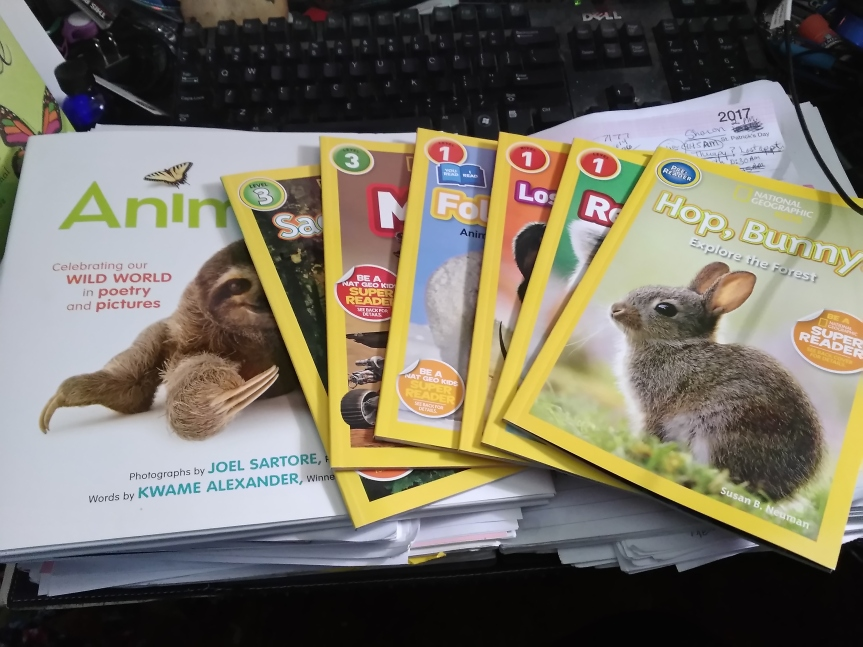 National Geographic Kids Leveled Readers and Super Readers