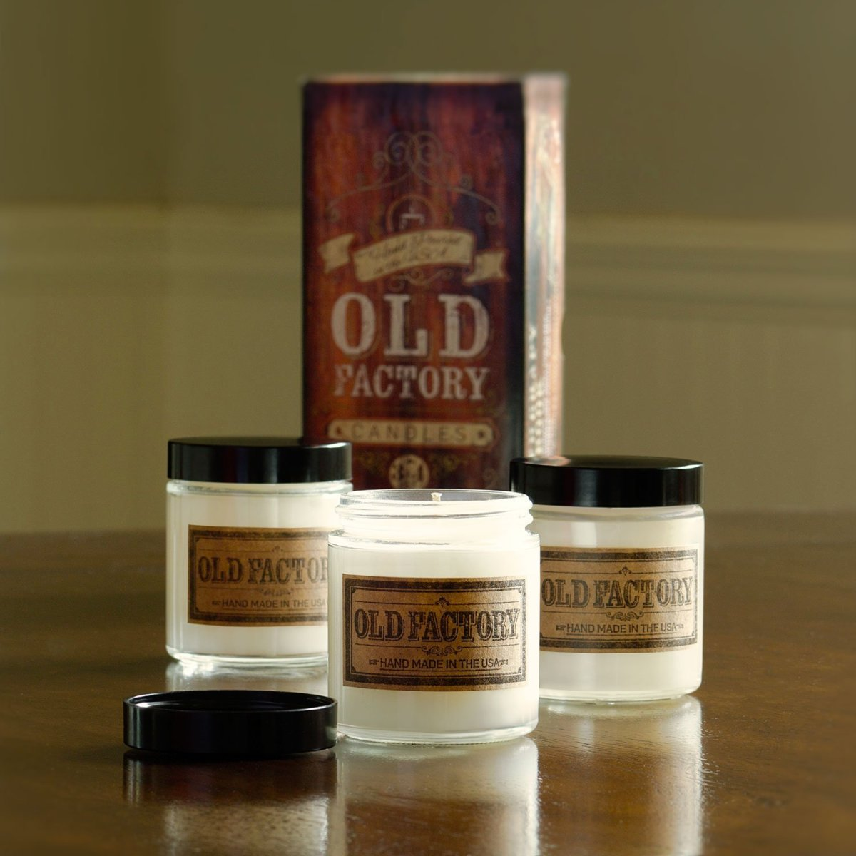 Old Factory Candle Gift SetReview