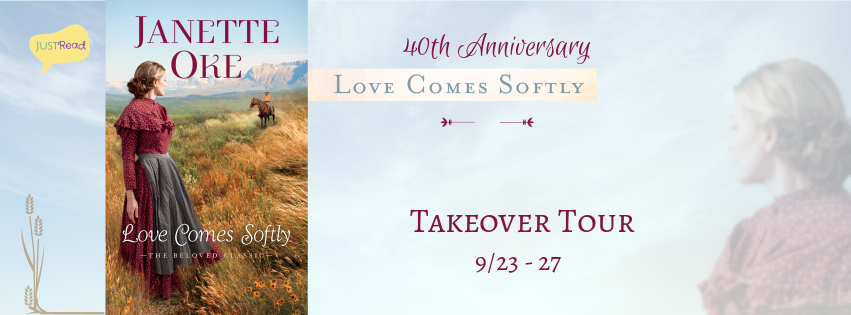 Welcome to Janette Oke's Love Comes Softly 40th Anniversary Takeover Tour + Giveaway!